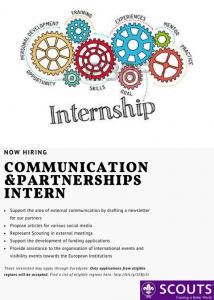 Internship Poster